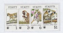 St.Kitts Nr.184-187 ** - St.Kitts E Nevis ( 1983-...)