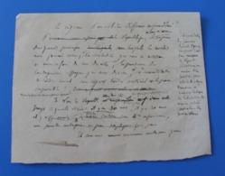 Manuscrit 1875 Trouvé Dans-Cahier D'école De Cécile De Bernardi - Manuscripts