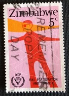 142. ZIMBABWE (5C) 1981 USED STAMP INTERNATIONAL YEAR OF DISABLED PERSONS - Zimbabwe (1980-...)