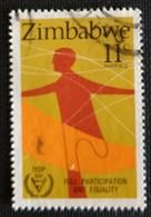 142. ZIMBABWE (11C) 1981 USED STAMP INTERNATIONAL YEAR OF DISABLED PERSONS - Zimbabwe (1980-...)