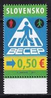 Slovakia 2017 BECEP Road Traffic Safety 1v MNH - Slovaquie