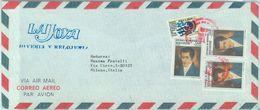 84288 -  HONDURAS  -  POSTAL HISTORY -  Airmail COVER To ITALY 1987 - FLAGS - Honduras