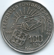 Azores - 1991 - 100 Escudos - Antero De Quental - KM664 - Azores