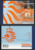 Nederland Netherlands Pays Bas 2010 Prestige Booklet Mi PP24 ** WC  2010 - South Africa - Football / WK Zuid Afrika - Coupe Du Monde