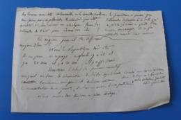 Manuscrit  Trouvé Dans-Cahier D'école De Cécile De Bernardi - Manuscripts