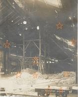 Aulnoye Photo Orignale Après Destruction Allemande Usine Montbard 14 Décembre 1920 - Guerre 1914-18