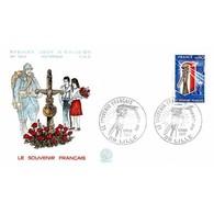 FDC N° 1012 - Le Souvenir Français - 5/3/1977 Lille - 1970-1979