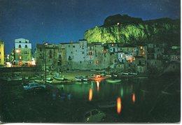Cefalu' - La Marina Di Notte (viaggiata 1994) - Italia