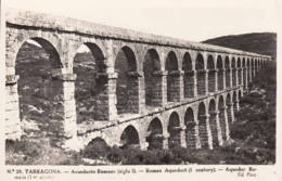 ESPAGNE - 1951 - Carte Postale Pour La France - Aqueduc Romain De Tarragona - 1931-Today: 2nd Rep - ... Juan Carlos I