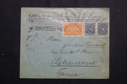 ALLEMAGNE  - Enveloppe Commerciale De Aschaffenbourg Pour La France , Affranchissement Plaisant -  L 61995 - Storia Postale