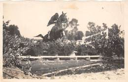 Sport.   Hippisme :       Saut D'obstacle   1   Carte Photo      (voir Scan) - Horse Show