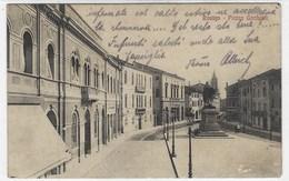 CL140 -  ROVIGO PIAZZA GARIBALDI 1915 ANNULLO OSPEDALE MILITARE RISERVA - Rovigo