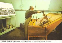 IMPRIMERIE - Fabrication De La CARTE POSTALE   ( C.P.M.  , Gd - Ft ) - Industrie
