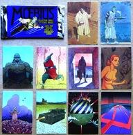 MOEBIUS > Pochette De 10 CARTES DE COLLECTION (Comic Images, 1993) : N° 8, 17, 29, 44, 48, 50, 63, 79, 84, 87 - Chromos
