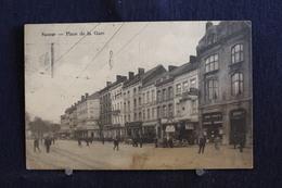 E-109 / Namur, Place De La Gare - Garage Francotte    / Circule 1925 - Namur