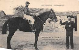 Sport.   Hippisme :     Garantie  Trotteuse Vendéenne  De St Jean De Mont  85       (voir Scan) - Horse Show