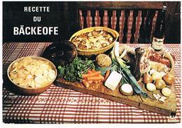 RECETTES  DE CUISINE  RECETTE   DU   BAICKEOFE CPM    TBE  RE08 - Ricette Di Cucina