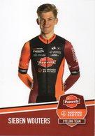 Cyclisme, Sieben Wouters - Radsport
