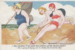 Des Crevettes! - She Is Going Shrimping - Humor