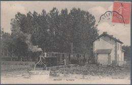 Bellot , Train En Gare , Animée - Francia
