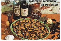 RECETTES  DE CUISINE  RECETTE  MOUCLADE ROCHELAISE CPM    TBE  RE10 - Ricette Di Cucina
