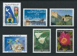 MAROC 2006 . N°s 1411 à 1416 . Neufs ** (MNH) . - Maroc (1956-...)