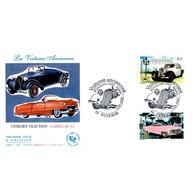 FDC JF - Voitures Anciennes. Citroën Traction Et Cadillac 62- 5/5/2000 Puteaux - FDC