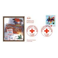 CEF - Croix Rouge - 9/11/2000 Paris - FDC