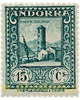 Ref. 584410 * MNH * - ANDORRA. Spanish Adm.. 1929. ANDORRA LANDSCAPES . PAISAJES DE ANDORRA - Spaans-Andorra