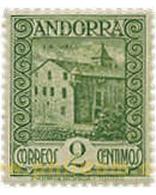 Ref. 584424 * MNH * - ANDORRA. Spanish Adm.. 1929. ANDORRA LANDSCAPES . PAISAJES DE ANDORRA - Spaans-Andorra