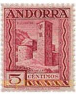 Ref. 584425 * MNH * - ANDORRA. Spanish Adm.. 1929. ANDORRA LANDSCAPES . PAISAJES DE ANDORRA - Spaans-Andorra