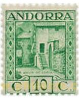 Ref. 584412 * MNH * - ANDORRA. Spanish Adm.. 1935. ANDORRA LANDSCAPES . PAISAJES DE ANDORRA - Spaans-Andorra