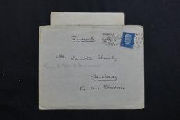 ALLEMAGNE - Enveloppe Avec Contenu De Mainz Pour La France En 1930 -  L 62008 - Storia Postale