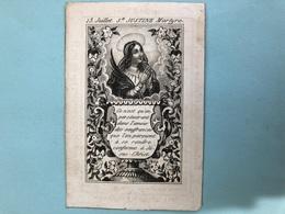 "Zuster Ignatia Garcia Religieuse Klooster Der Zwarte Zusters Yperen * 1796 Ieper +1845 Ypres "" 13 Juillet St Justine Mar - Décès"