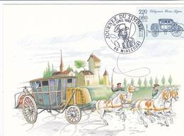 France - 1989 - YT N° 2577 - Journée Du Timbre 15 Avril 1989 Mirecourt 88 - Manual Postmarks