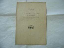 OMELIA DETTA IN S.LORENZO CONSACRAZIONE LUIGI BIGNAMI ARCIVESCOVO SIRACUSA 1906 - Religion