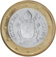 Vatikaanstad 2017   1 Euro  Met De Nieuwe Afbeelding UNC Uit De BU !!!!   Zeldzaam !!! Leverbaar - Livrable !! - Vatican