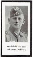 Sterbebild Franz NIMMERFALL - Fur Unser Vaterland Am 12 März 1942 In Kampf Gegen Rusland Gefallen - Décès