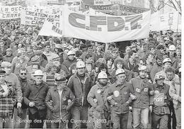 ALBI  ( 81 ) - Grève Des Mineurs De Carmaux  - 1er Mars  1983  ( C.P.M.  , Gd - Ft ) - Grèves