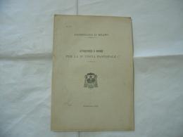 AVVERTENZE E NORME PER LA VISITA PASTORALE ARCHIDIOCESI DI MILANO 1903 - Religion