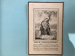 Eerwaarde Pater Petrus Martinus Van Eecken Minderbroeder Recollecten Biechtvader OlVkerk *1762 Niel +1847 Antwerpen - Décès