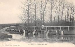 77. N°206037. Grégy. Passage De L'yères - Other Municipalities