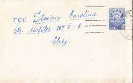 COAT OF ARMS, LILIPUT COVER STATIONERY, ENTIER POSTAL, 1965, ROMANIA - Postwaardestukken