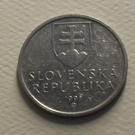 1993 - Slovaquie - Slovakia - 5 KORUNA - KM 14 - Eslovaquia