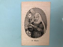 Barbe Vandenbossche *1763 Malines Mechelen +1840 Leuven Filles De Marie Communauté Mlle Paridaens Leuven Imp Vanlinthout - Décès