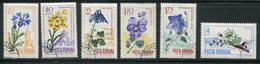 ROUMANIE- Y&T N°2304 à 2309- Oblitérés (fleurs) - 1948-.... Republieken