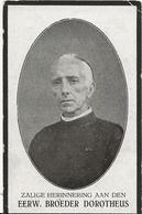 DP. EERW.BROEDER DOROTHEUS (JULIAAN BRUNEEL) ° POPERINGHE 1859- + STEKENE 1926 - Religion & Esotericism
