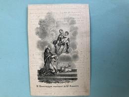 """Livinus Meire *1754 Machelen Aan Leie Zv JB & Verdonck Wed Ghellinck Isabelle +1840 Machelen Druk Deynze """"St Dominique R - Décès"""