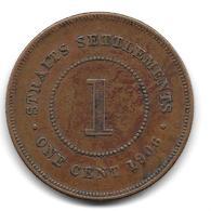 Straits Settlements, 1 Cent 1906 (232) - Malaysia
