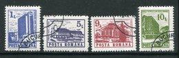 ROUMANIE- Y&T N°3953 à 3956- Oblitérés - 1948-.... Republieken
